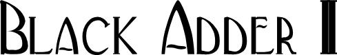 Preview image for BlackAdderII Font