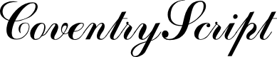 Preview image for CoventryScriptFLF Font