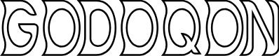Preview image for GODOQON Font