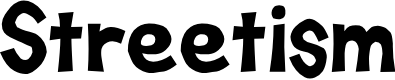 Preview image for D3 Streetism Font