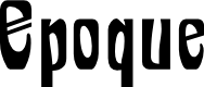 Preview image for Epoque Font
