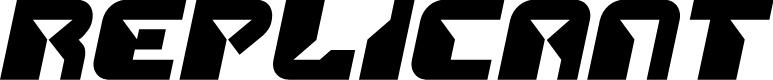 Preview image for Replicant Semi-Italic