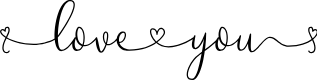 Preview image for Loveyou Font