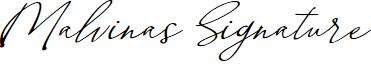 Malvinas Signature