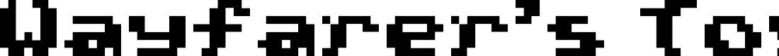 Preview image for Wayfarer's Toy Box Regular Font