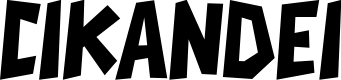 Preview image for CIKANDEI Font