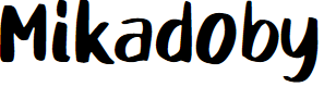 Preview image for Mikadoby Font