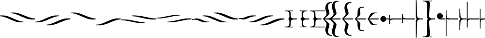 Preview image for Foglihten DecoH02 Font