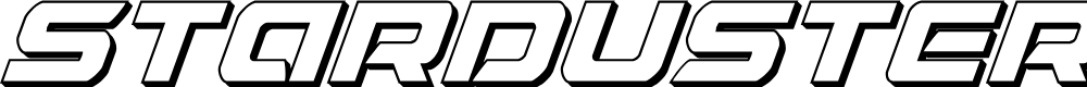 Preview image for Starduster 3D Italic