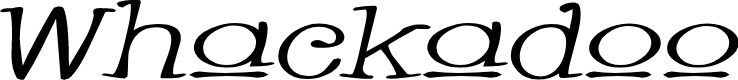 Preview image for Whackadoo Upper Wide Italic