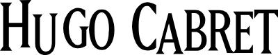 Preview image for Hugo Cabret Font