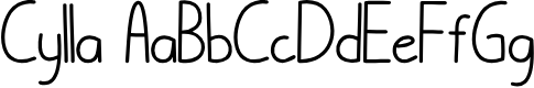 Preview image for Cylla Font