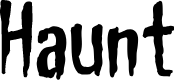 Preview image for Haunt AOE Font