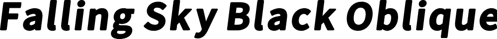 Preview image for Falling Sky Black Oblique