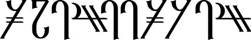 Preview image for Reanaarian Font