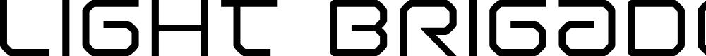 Preview image for Light Brigade Font