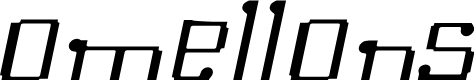 Preview image for Omellons LightItalic