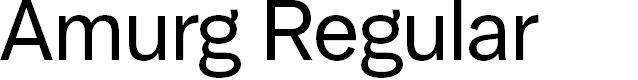 Preview image for Amurg Regular Font