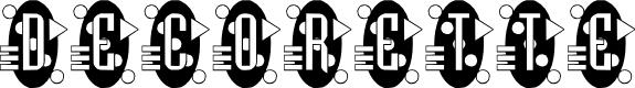 Preview image for Decorette Font