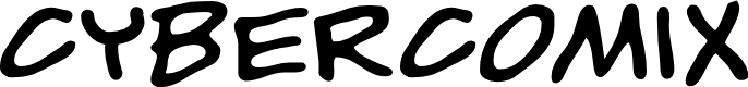 Preview image for CyberComix Font