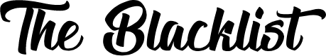 Preview image for The Blacklist Font