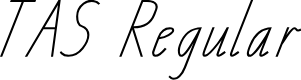 Preview image for TAS School Handwriting Font