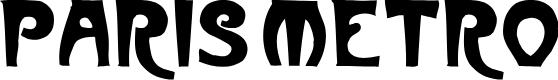 Preview image for ParisMetro Font