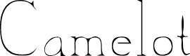 Preview image for CamelotDeNada Font