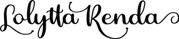 Lolytta Renda by Perspectype Studio