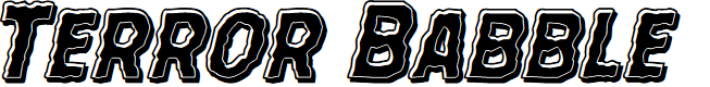 Preview image for Terror Babble Bevel Italic