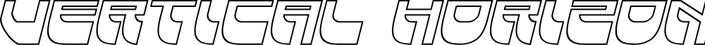 Vertical Horizon Outline Itali