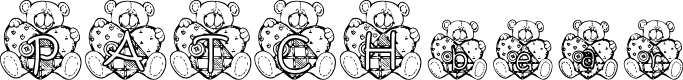 Preview image for KG PATCHBEAR Font
