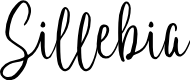 Preview image for Sillebia Font