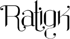 Preview image for Ratigk Font
