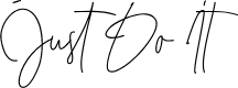 Preview image for Just Do It Font