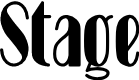 Preview image for Stage Font