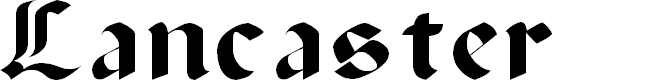 Preview image for Lancaster Font
