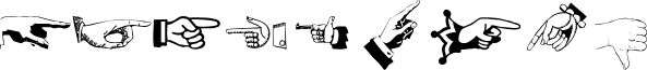 AllHands font