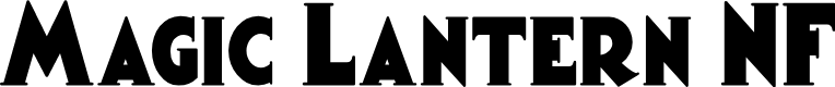 Preview image for Magic Lantern NF Font