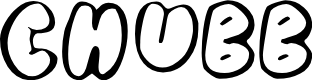 Preview image for Chubb Font