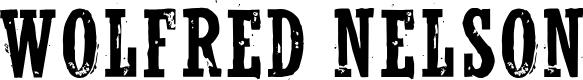 Preview image for WolfredNelson Regular Font