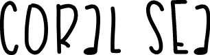 Preview image for CoralSea Font