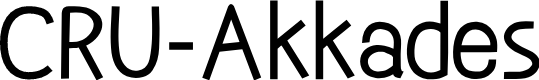 Preview image for CRU-Akkades Font