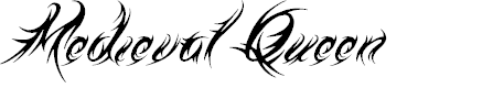 Preview image for Medieval Queen Font