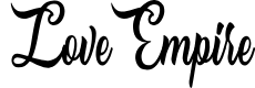 Preview image for Love Empire Personal Use Regular Font