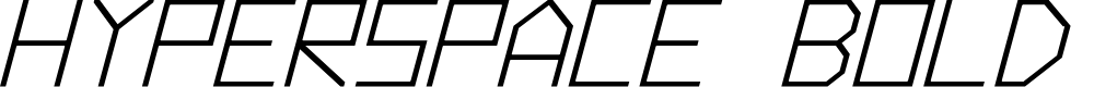Preview image for Hyperspace Bold Italic
