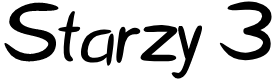 Preview image for Starzy 3 Font