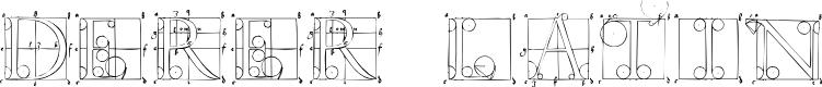 Preview image for DuererLatinConstructionCapitals Font