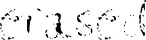 Preview image for erased  Medium Font