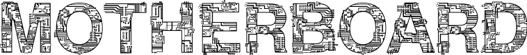 Preview image for CF Motherboard DEMO Regular Font